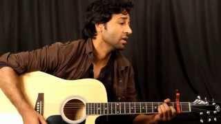 Tere Bin Nahi Laage - Guitar Lesson for super beginner By VEER KUMAR