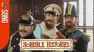 Horrible Histories Song - World War 1 Cousins - CBBC