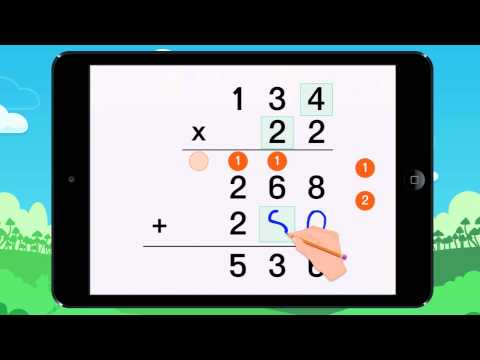 Finding the product of multiplication problems! Example 1