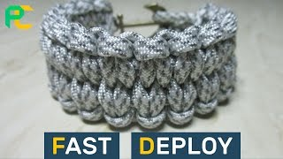How to make Fast Deploy Paracord Bracelet