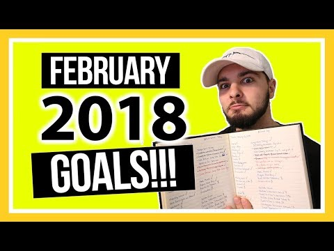 My February 2018 Mid-Month Goals Summary