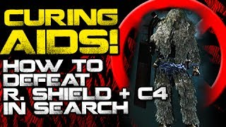 How to Defeat Riot Shield + C4 Jerks in SnD! (COD Ghosts gameplay)
