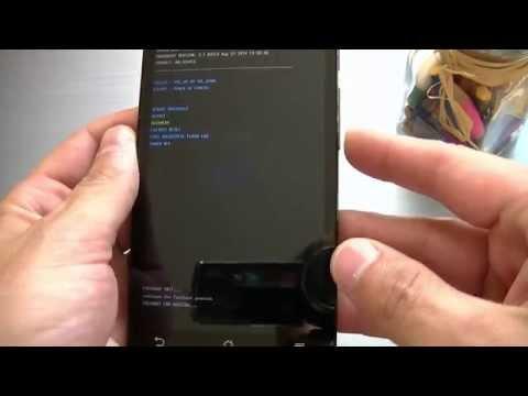 Как войти в Recovery на Zenfone 5/6 через DROIDBOOT  / How to Asus Zenfone Recovery Mode