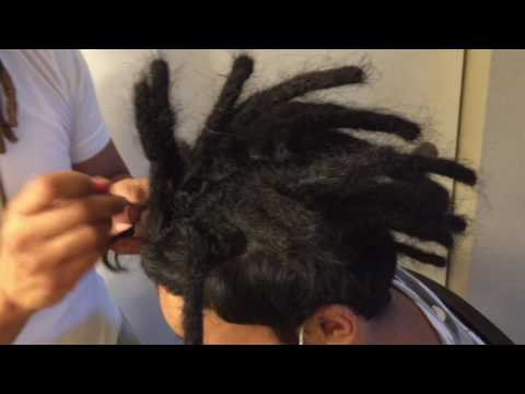 HOW TO START DREADLOCKS WITH STRAIGHT HAIR (Tutorial)