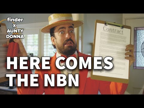 The NBN is coming to town | feat. Aunty Donna 🌐