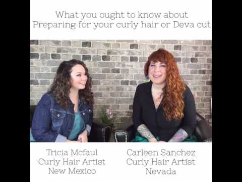 Curly Hair Tips: How to prepare for your naturally Curly/Wavy or Deva haircut.