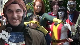 The Hunt for the Best X-Men Cosplay! | Comic-Con 2014  | toofab