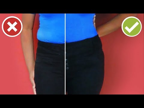 How to Loosen a Tight Pants Waist   DIY Easy Sewing Tutorial