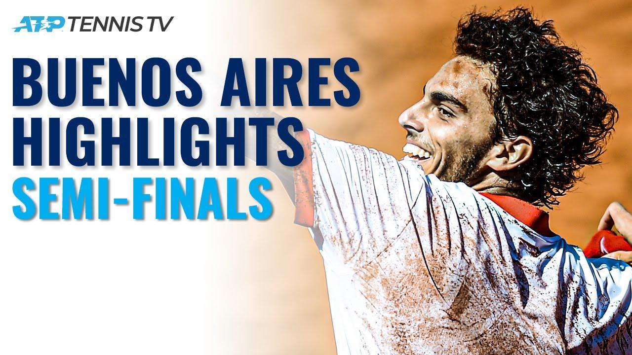 Cerundolo vs Ramos-Vinolas; Schwartzman vs Kecmanovic | Buenos Aires 2021 Semi-Final Highlights