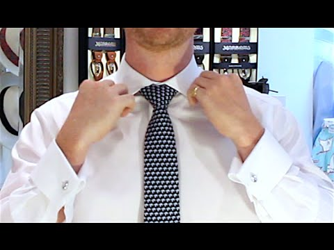 How To Tie A Tie Full Windsor Knot Double Windsor Easy Video