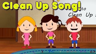 Clean Up Song for Children - by ELF Learning
