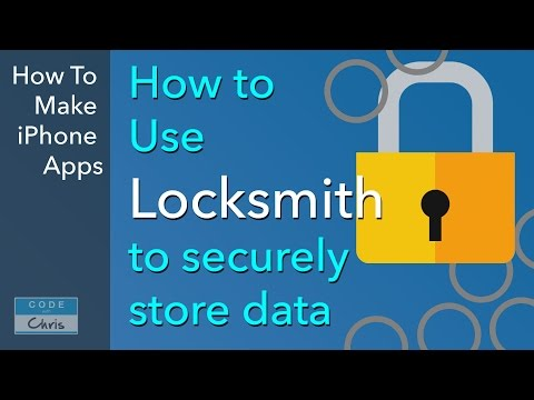 iOS Keychain Access with Locksmith Tutorial (Cocoapod Install)