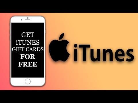 How To Get iTunes GiftCards For Free!