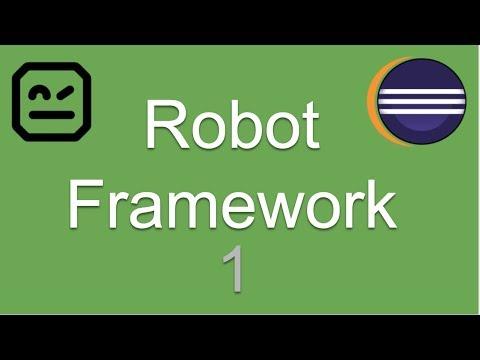 Robot Framework Beginner Tutorial 1 | What is Robot Framework | How to install Robot Framework