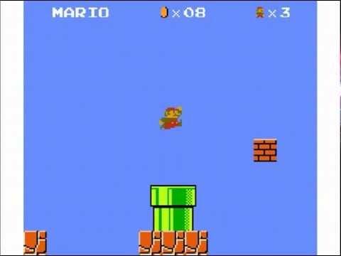 Super Mario Bros made in Scratch 2.0