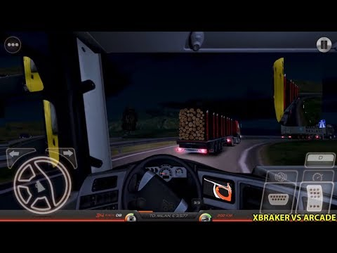 Truck Simulator : Europe 2 Logs Transport Android Gameplay #11
