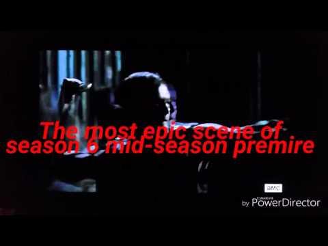 The walking dead mid-season 6 premire of killing walkers