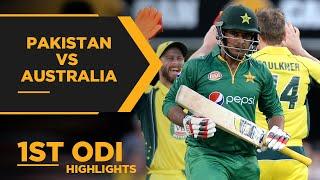 Australia Stun Pakistan In Thriller | Pakistan vs Australia | 1st ODI Highlights | PCB | MA2E