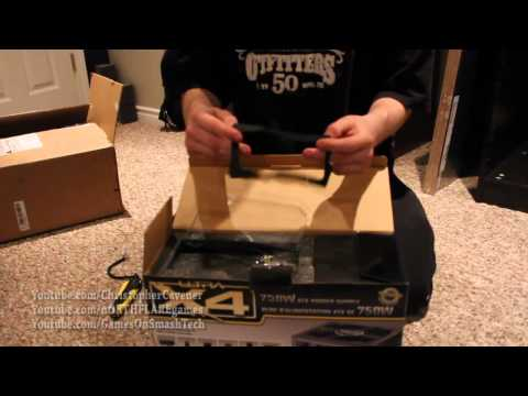 Ultra X4 750W Powersupply Unboxing