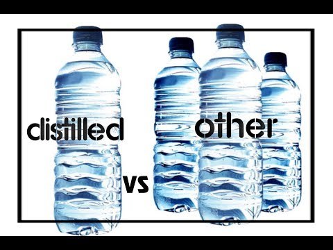 What is the best water to drink while on a water fast?