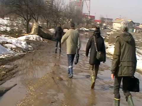 O catastrofa de drum Drumul Fermei din Popesti Leordeni