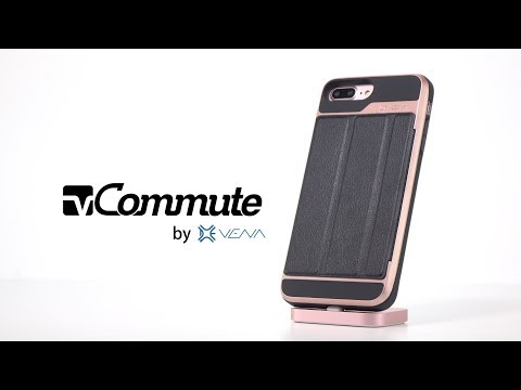 The Best iPhone Wallet Case, Vena vCommute Multi-Purpose Case - Protection, Card Holder and Stand