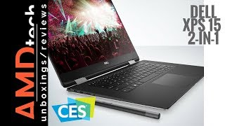 CES 2018:  Dell XPS 15 2-in-1 9575 First Look