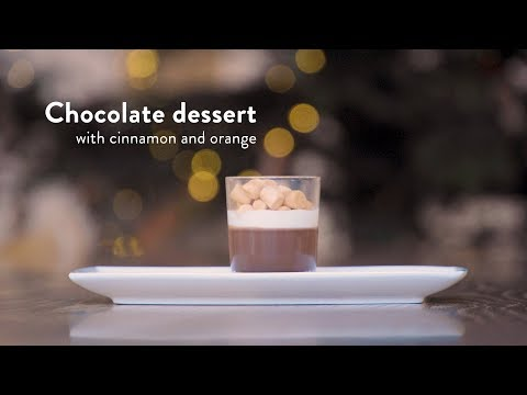 DOB-Academy Holiday Recipe: Chocolate dessert with cinnamon and orange
