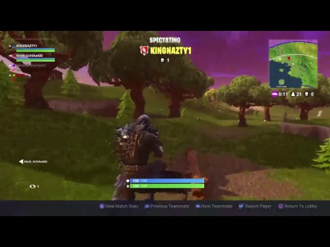 Playing Fortnight with suscribers join up