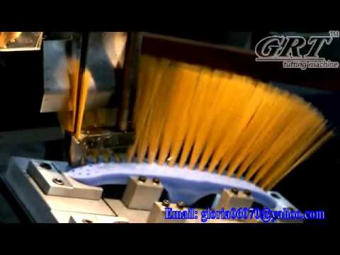 3 aixs broom brush making machine