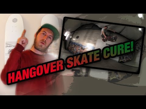 HANGOVER SKATE CURE - DODGING SCOOTERS