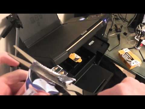 How to Replace an Ink Cartridge in a Kodak ESP C310 All in One Printer