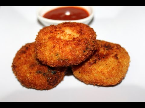 chicken cutlets recipe - how to make chicken cutlets at home | Ramadan recipes