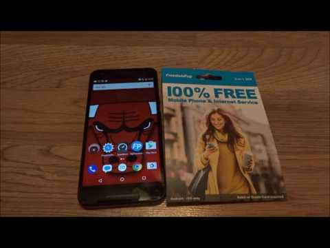 FreedomPop GSM 4G LTE Inital Setup/First Impression 2 Days later Review