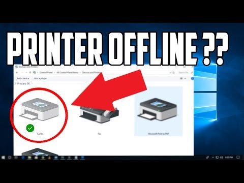 How to Get Your Printer Online in Windows 10