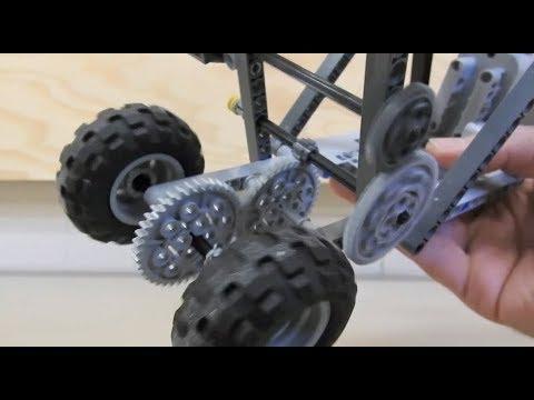 Building a LEGO slow car