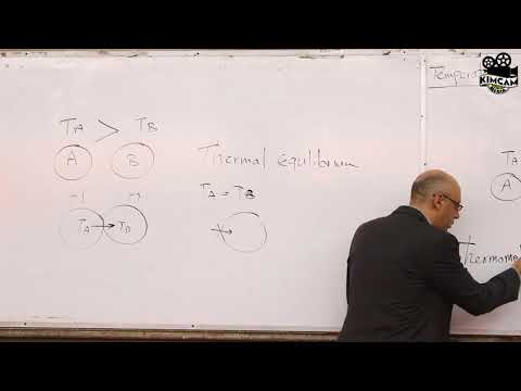 Lecture 9 - Temperature, Specific and latent heat