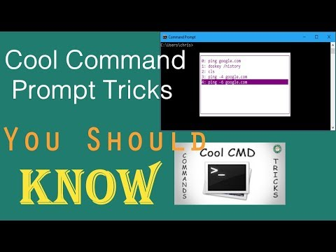 Cool Command Prompt Tricks You Should Know | PCGUIDE4U