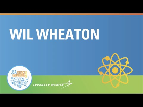 Wil Wheaton speaks to the 2016 USA Science and Engineering Festival