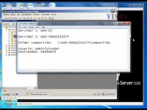 SQL 2008 transaction log  shipping