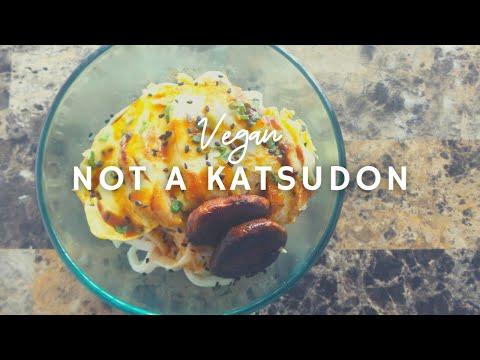 Not A Chicken Katsudon | #10 Vegan Chickathon | Gluten-free | Korenn Rachelle
