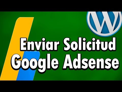 Enviar solicitud de WordPress a Google Adsense - 2018