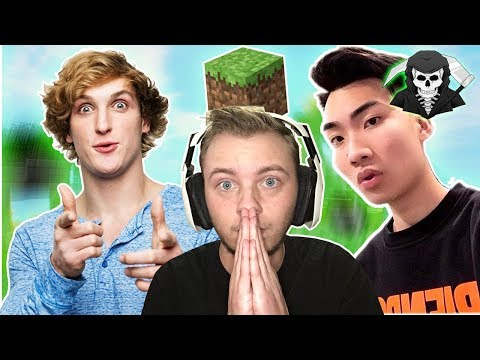 Ricegum PLAYS Minecraft? #ParodyNews Logan Paul QUITS! #Clips4Kids