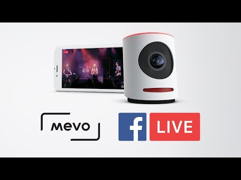 Mevo Camera to Facebook Live