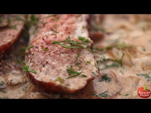 BEST.BEEF.STROGANOFF! - Ultimate Cooking Outside