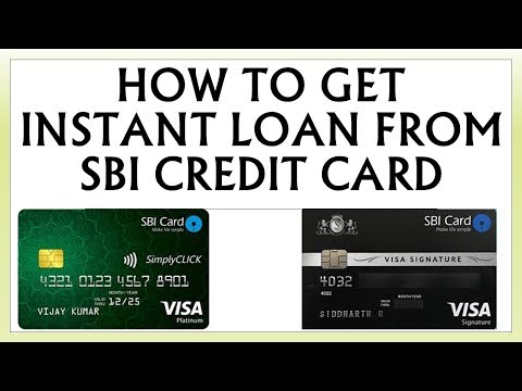 How to get instant loan from SBI credit card through encash benefit