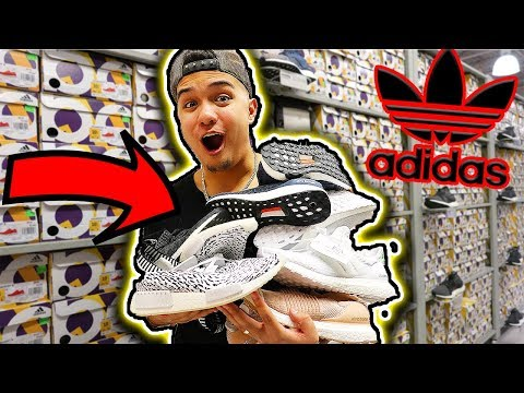 MASSIVE ADIDAS BOOST FINDS AT ADIDAS OUTLET!!