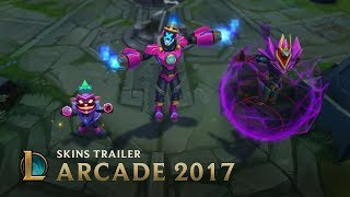 Villains Rule | Arcade 2017 Skins Trailer - League of Legends