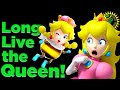 Game Theory The END Of Princess Peach New Super Mario Bros U Deluxe Peachette Bowsette