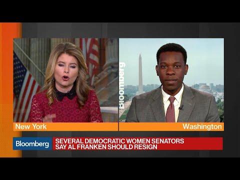 Democratic Women Senators Call for Franken to Resign